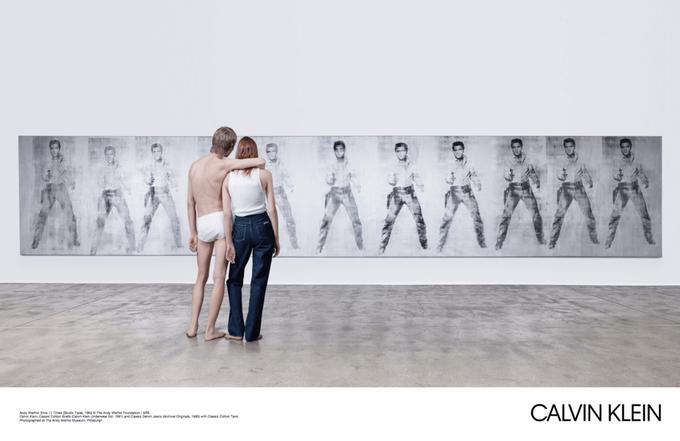 Новая кампания Calvin Klein посвящена современному искусству. Изображение № 4.