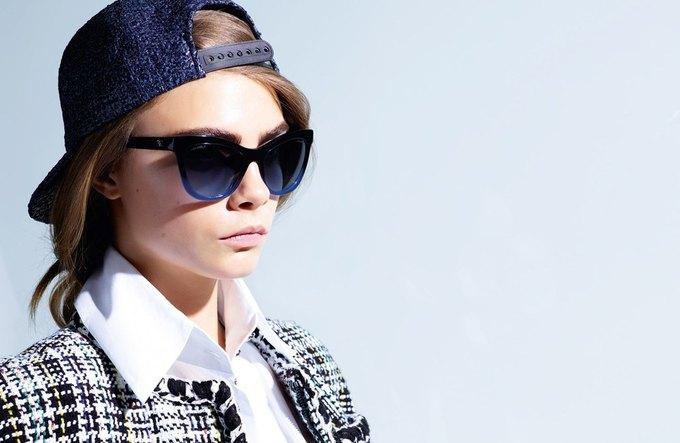 Кара Делевинь снялась  в новой кампании Chanel. Изображение № 5.