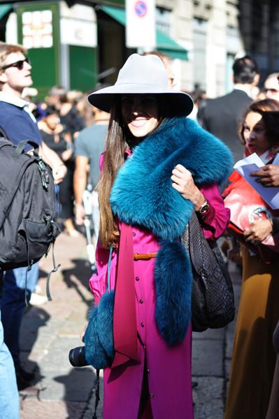Анна Делло Руссо, Брайан Бой и другие перед показом Gucci SS 2012. Изображение № 3.