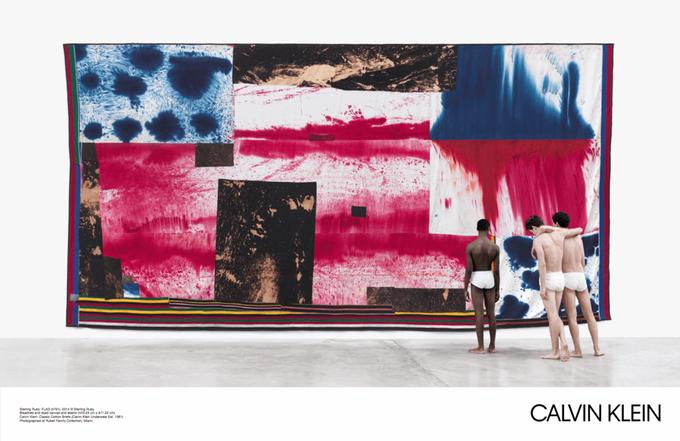 Новая кампания Calvin Klein посвящена современному искусству. Изображение № 1.