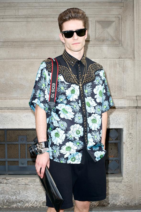 Стрит-стайл: Неделя мужской моды в Милане. Изображение № 14.