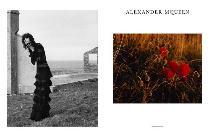 Alexander McQueen выпустили готичную рекламную кампанию. Изображение № 2.
