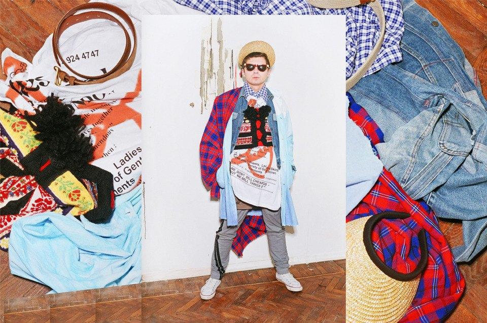 Все лучшее сразу: Московские модники в самой нарядной одежде из своего гардероба. Изображение № 16.