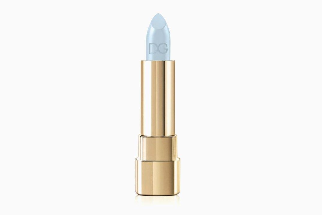 Голубая помада  из новой коллекции  Dolce & Gabbana. Изображение № 1.