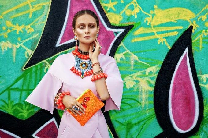 Дарья Шаповалова в новой кампании украшений Mawi. Изображение № 2.