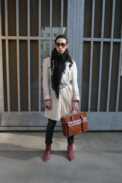 Milan Fashion Week: день третий – луки. Изображение № 14.