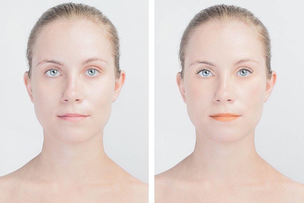 До и после макияжа:  Редакция тестирует  бьюти-приложения. Изображение № 18.