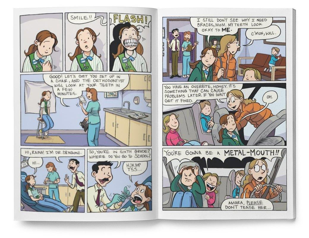 Мемуары в картинках: 10 комиксов о жизни женщин. Изображение № 8.