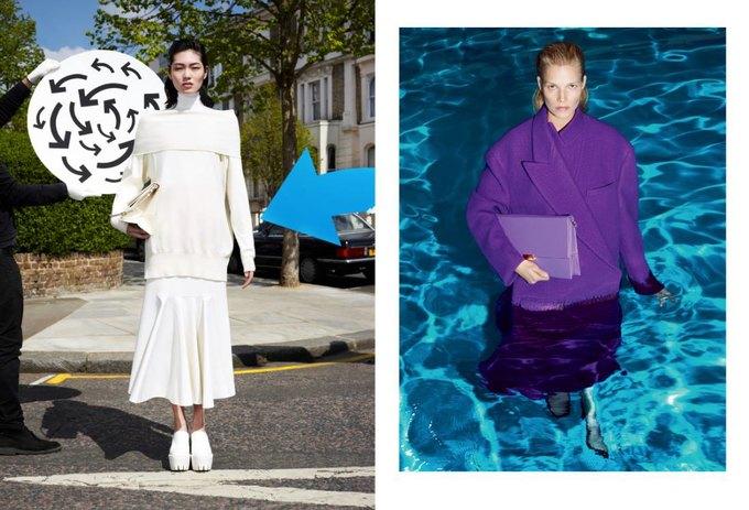 Модели в бассейне в кампании Stella McCartney. Изображение № 4.