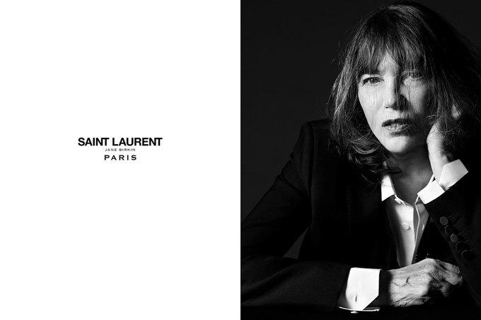 Джейн Биркин снялась  для Saint Laurent. Изображение № 1.
