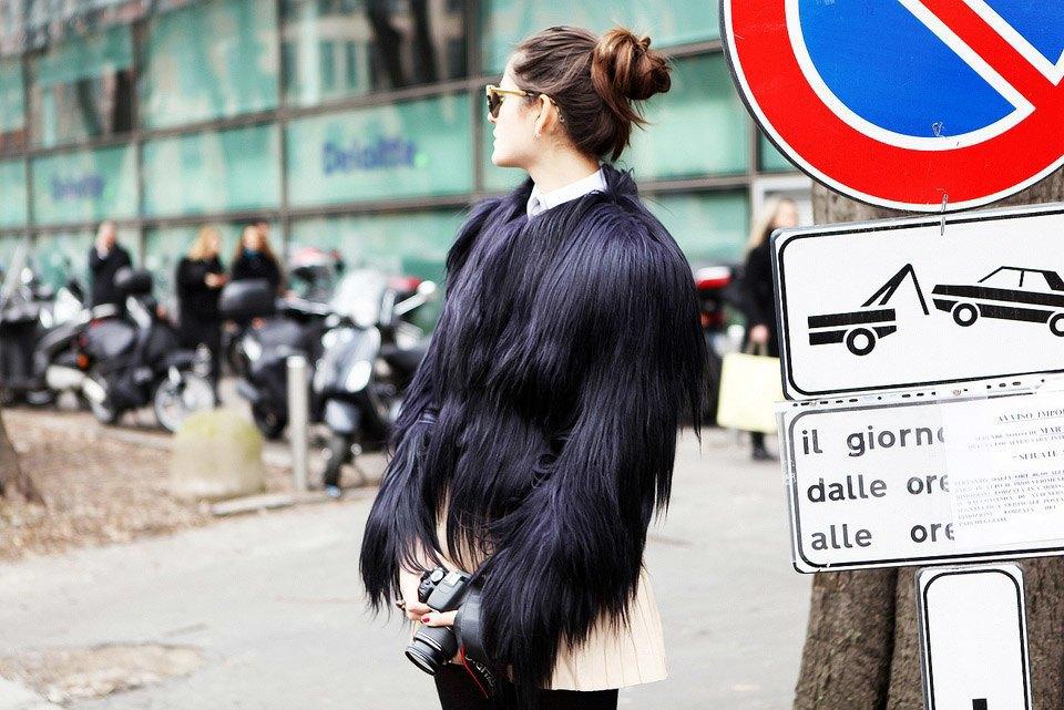 Анна Делло-Руссо, Элеонора Каризи и другие гости Миланской недели моды. Изображение № 15.