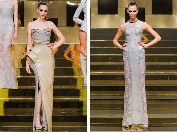 Versace Spring 2012 Haute Couture  . Изображение № 19.