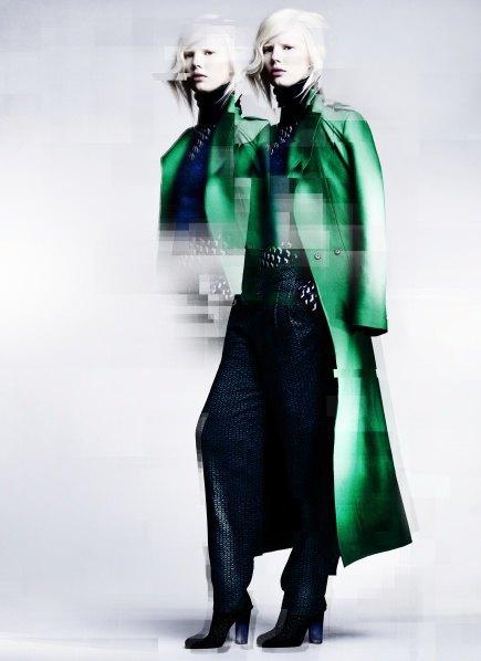 Пальто с графическими принтами в лукбуке Minimarket . Изображение № 3.