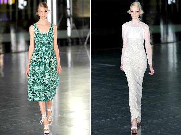 Показы на London Fashion Week SS 2012: День 2. Изображение № 11.