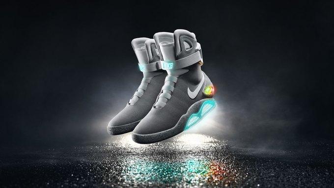 Nike сделали кроссовки  с автошнуровкой  из «Назад в будущее». Изображение № 2.