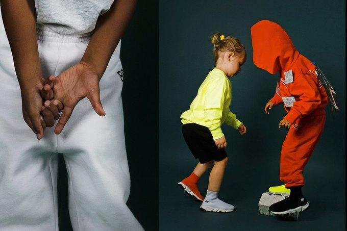 Balenciaga показали яркую детскую коллекцию. Изображение № 9.
