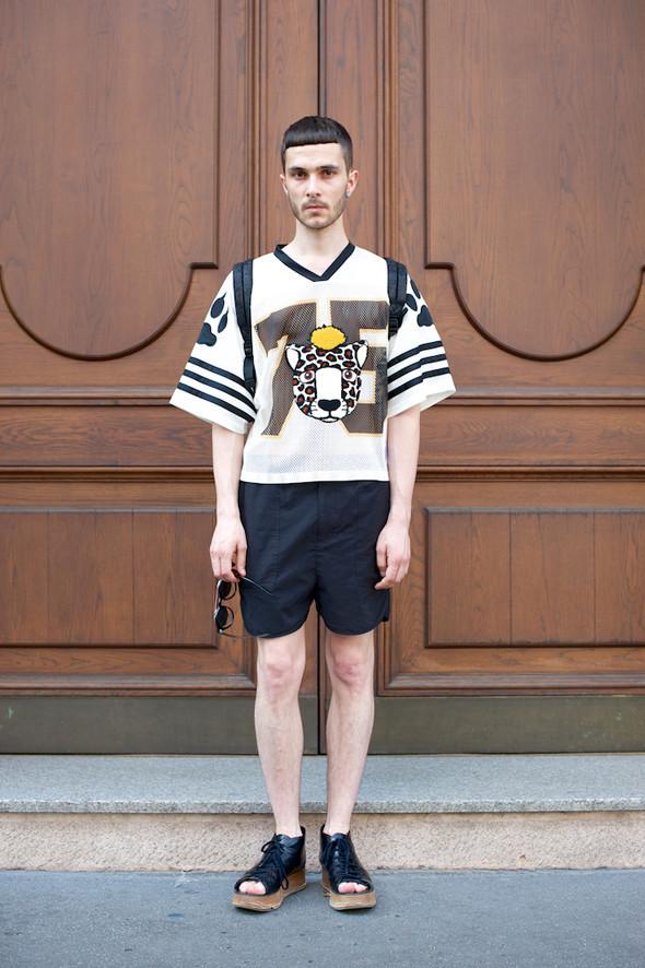 Стрит-стайл: Неделя мужской моды в Милане. Изображение № 38.