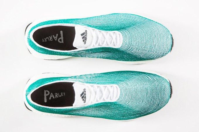 adidas показали кроссовки из переработанного океанического мусора . Изображение № 3.