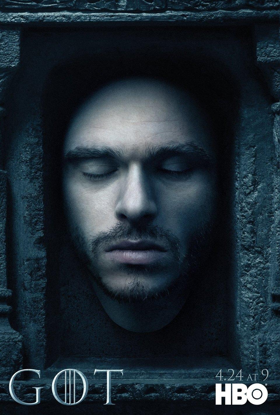 Постеры с героями «Игры престолов» к новому сезону. Изображение № 5.