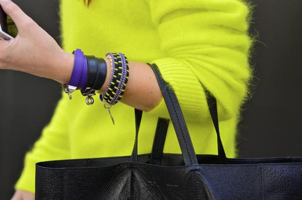Streetstyle: Неделя моды в Лондоне, часть 2. Изображение № 5.