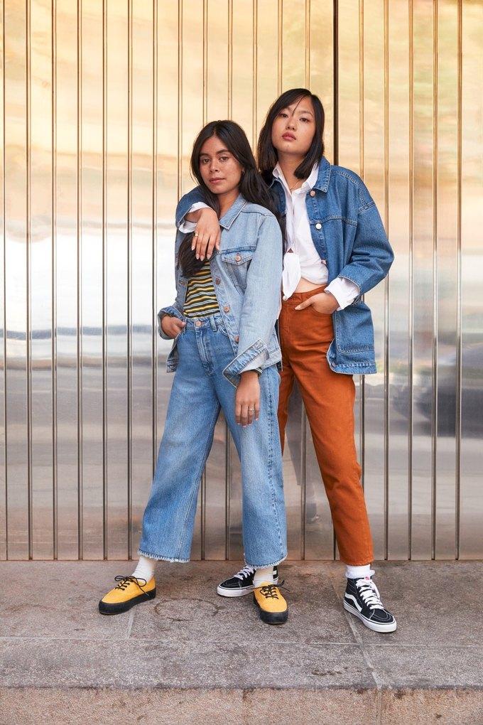 Люби деним: Monki показали новый джинсовый лукбук . Изображение № 2.