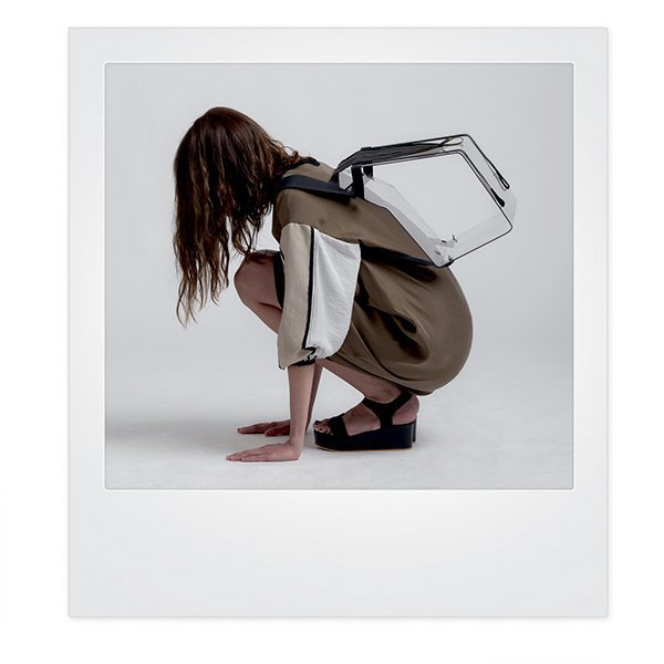 Геометричные платья и прозрачные сумки Ksenia Gerts. Изображение № 7.