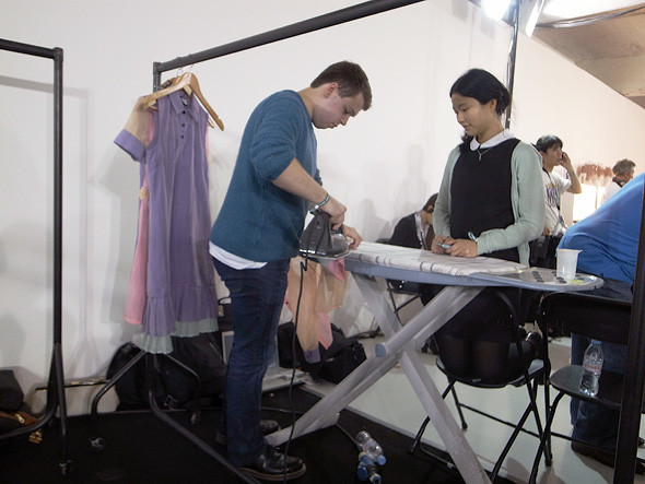 London Fashion Week: Репортаж с бэкстейджей House of Holland и Vivienne Westwood. Изображение № 10.