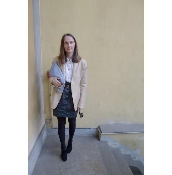 Milan Fashion Week: день второй — луки. Изображение № 6.