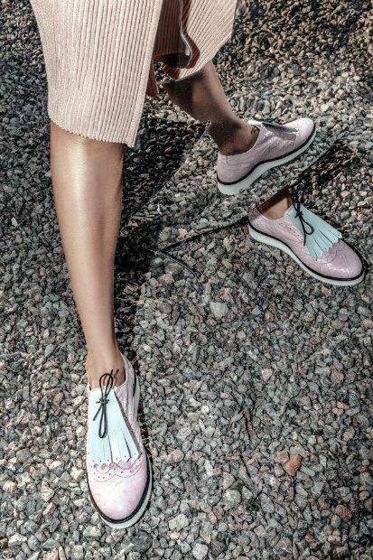 Марка AFOUR и магазин Nevalenki сделали ботинки с яичницей. Изображение № 6.