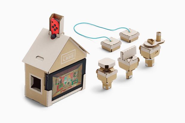 Картонный конструктор Nintendo Labo. Изображение № 3.