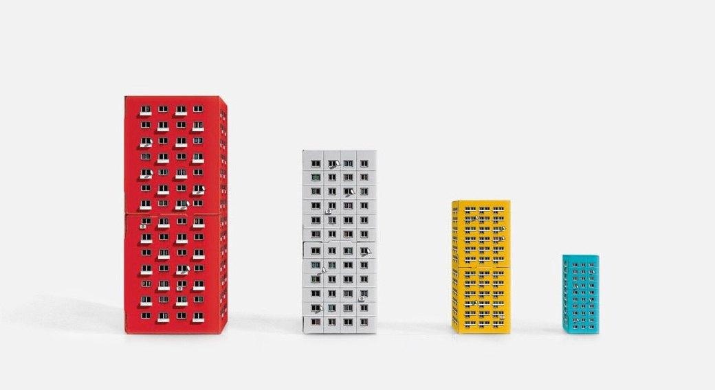 Конструкор-матрёшка Blokoshka для ценителей спальных районов. Изображение № 1.