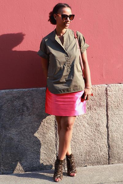 Milan Fashion Week: Уличный стиль, день 5. Изображение № 3.