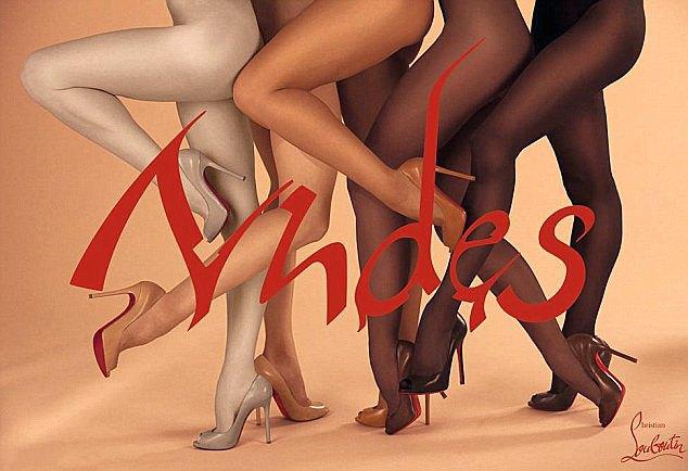 Christian Louboutin выпустил туфли nude для темнокожих женщин. Изображение № 1.