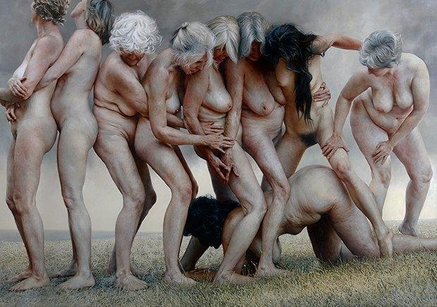 Шрамы, растяжки, волосы: Арт-проекты  о женской физиологии. Изображение № 2.