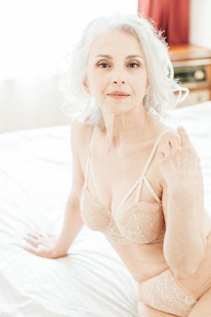 Татьяна Неклюдова  из Oldushka о своей первой съёмке в белье. Изображение № 2.