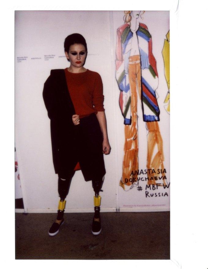 В Москве прошёл инклюзивный показ Bezgraniz Couture. Изображение № 11.