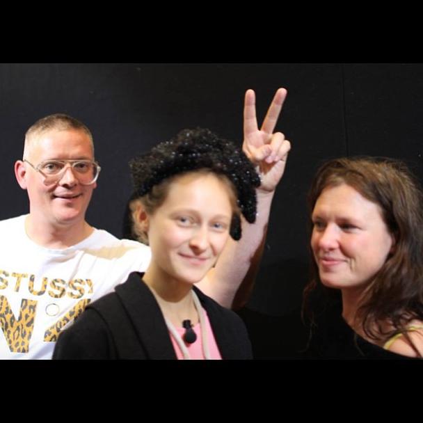 Дарья Шаповалова с командой Giles, Джайлзом Диконом и Кэти Гранд @daria_shapovalova. Изображение № 18.