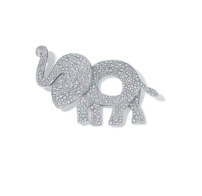 Tiffany & Co. выпустили коллекцию в защиту слонов. Изображение № 5.