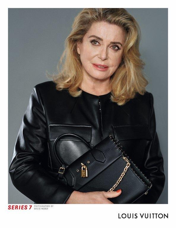 Катрин Денёв и Джейден Смит в новой кампании Louis Vuitton. Изображение № 2.