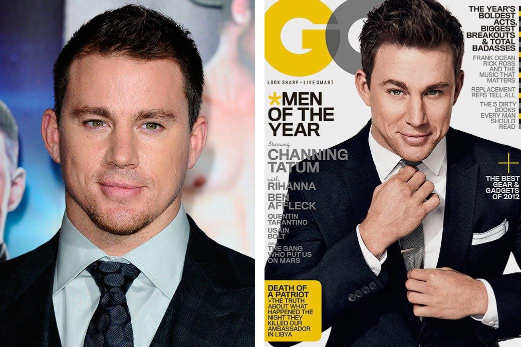 Нереально красивые: Знаменитые мужчины  до и после фотошопа. Изображение № 5.