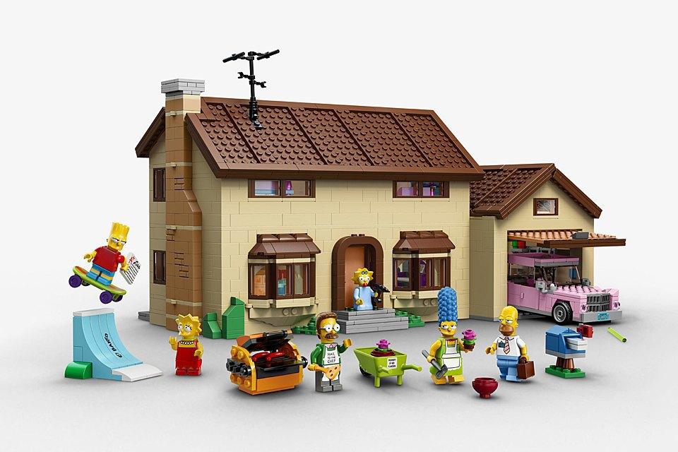 Конструктор LEGO  c «Симпсонами». Изображение № 1.