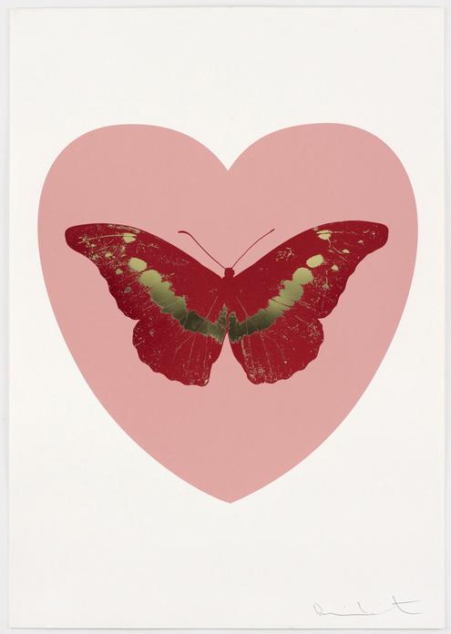 В Лондоне открылась выставка Дэмьена Херста, посвященная любви. Изображение № 1.