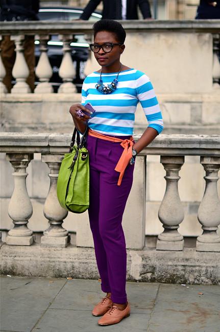 London Fashion Week: Уличный стиль, часть 1. Изображение № 28.