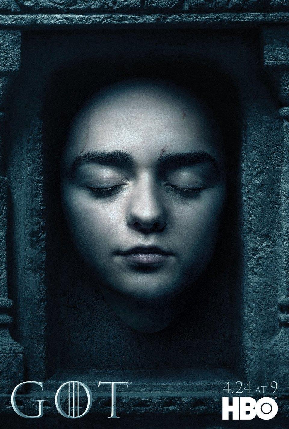 Постеры с героями «Игры престолов» к новому сезону. Изображение № 11.