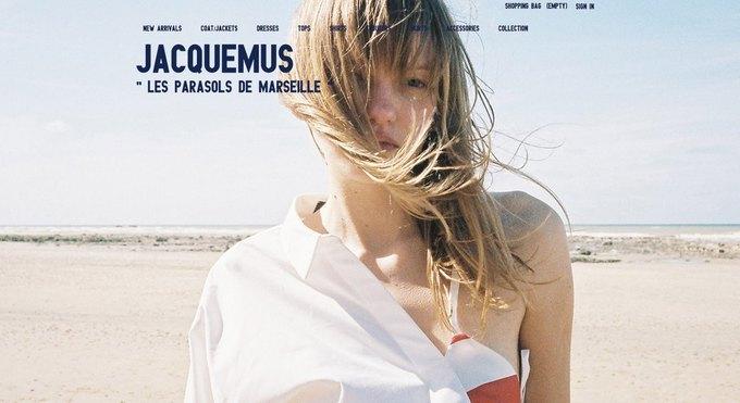 У Jacquemus появился собственный онлайн-магазин. Изображение № 1.