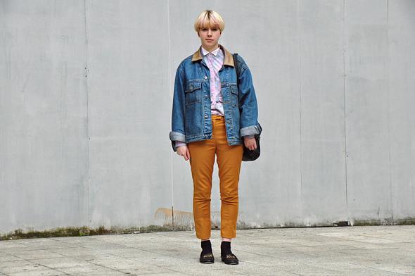 London Fashion Week: Уличный стиль, часть 2. Изображение № 19.