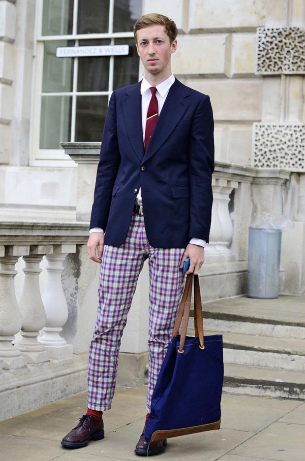 Streetstyle: Неделя моды в Лондоне, часть 2. Изображение № 22.