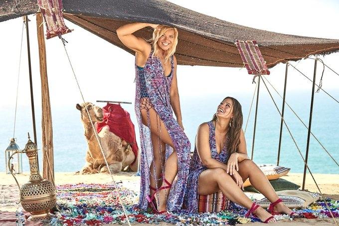 Эшли Грэхэм снялась  в рекламе купальников  с мамой. Изображение № 6.