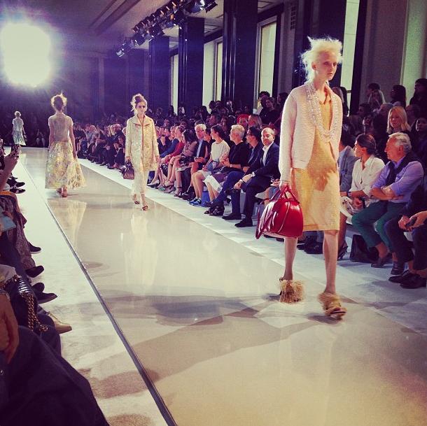 Прямой репортаж  с Paris Fashion Week:  День 2. Изображение № 18.