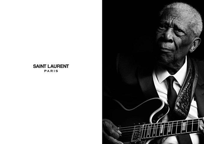 Чак Берри, Джерри Ли Льюис и Би Би Кинг стали лицами Saint Laurent . Изображение № 3.